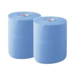 Putzpapier, Universalpapier, blau (VE = 2 Rollen)