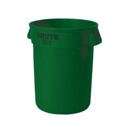 Runder Brute Container, 121 Liter, grün, alte Ausführung