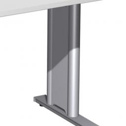 Seitenblenden-Set für Büroprogramm PREMIUM, Silber, innen