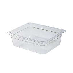 Gastronorm-Schale GN1/2, LxBxH 325 x 265 x 100 mm, 6 Liter, Polycarbonat