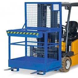 Arbeitsbühne, LxBxH 1200 x 800 x 1900 mm, Gewicht 125 kg, Traglast 300 kg