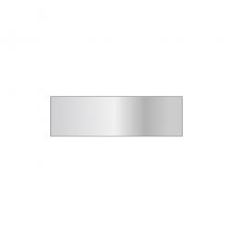 Fachboden für Steckregal, glanzverzinkt, Tragkraft 150 kg, BxT 1000 x 300 mm, mit 4 Fachbodenträgern