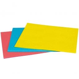 Schwammtuch, gelb, LxB 250 x 310 mm, Lieferung erfolgt vorgefeuchtet, Paket = 10 Schwammtücher