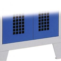 Gelochte Tür, Quadratlochung 20x20 mm, Mehrpreis/Tür (anstelle der Lüftungsschlitze)