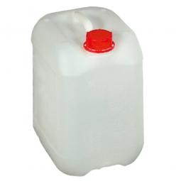 Kanister, 20 Liter, LxBxH 286 x 246 x 387 mm, Halsweite 48 mm, naturweiß