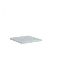 Einlegeboden für Materialschrank, HxBxT 24x497x352 mm, verzinkt