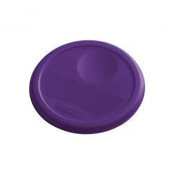 Deckel für runde Lebensmittel-Behälter Inhalt 3,8 Liter, lila