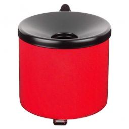 Sicherheits-Wandascher, Inhalt 3,1 Liter, ØxH 160x160 mm, Farbe rot