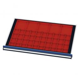 Kleinteilekästen, Für Schubladen mit Innenmaß 800x450 mm