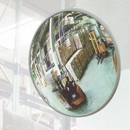 Beobachtungsspiegel, Acrylglas, Ø 800 mm, Für Innen, max. Beobachterabstand 11 m, Gewicht 6,2 kg