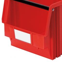 Beschriftungs-Etiketten für Sichtbox CLASSIC FB3, weiß, VE=100 Stück