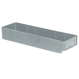 Regalkasten, grau, LxBxH 500x152x83 mm, Polystyrol-Kunststoff (PS), Gewicht 375 g