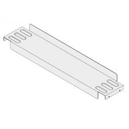 Gitterboxauflage für Paletttenregal, Regaltiefe 1100 mm, 150 mm breit, Tragkraft: 400 kg pro Paar, verzinkt