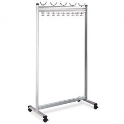 Reihen-Garderobenständer, HxBxT 1800x1000x500 mm