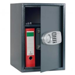 Tresor mit elektronischem Schloss, Farbe schwarz, BxHxT 350x520x360mm