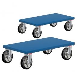 Möbelhund, Tragkraft 500 kg, LxBxH 600x350x145 mm, Paket = 2 Möbelroller
