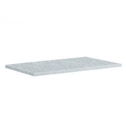 Einlegeboden für Materialschrank, BxTxH 1195 x 752 x 24 mm, verzinkt, Tragkraft 70 kg