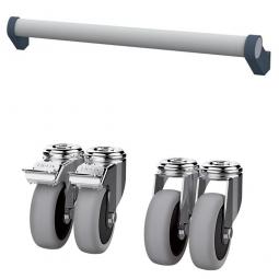 Rolluntersatz und Schiebegriff, BxTxH 600x575x175 mm