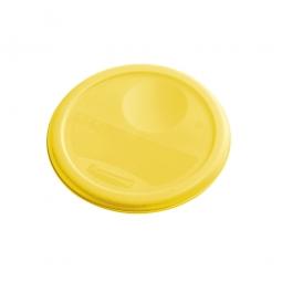 Deckel für runde Lebensmittel-Behälter Inhalt 3,8 Liter, gelb