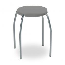 Sitzhocker, grau, ØxH 305x440 mm