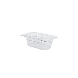 Gastronorm-Schale GN1/9, LxBxH 176 x 108 x 65 mm, 0,6 Liter, Polycarbonat