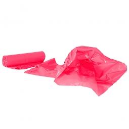 Müllsäcke 120 Liter, Stärke 40 µm, VE=250 Stück, BxH 700x1100 mm, Polyethylen-Kunststoff (PE), rot