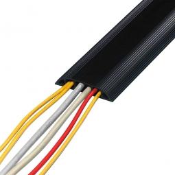 Kabelbrücken, schwarz, HxBxL 15x83x3000 mm