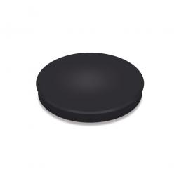 Haftmagnete, schwarz, Durchmesser 24 mm, Haftkraft 300 g, Paket=10 Magnete