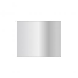 Fachboden für Steckregal, glanzverzinkt, Tragkraft 250 kg, BxT 1000 x 800 mm, mit 4 Fachbodenträgern