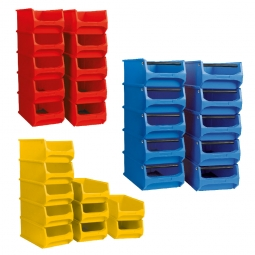 30-teiliges Sichtboxen-Set PROFI, PP, XXL-Set 3