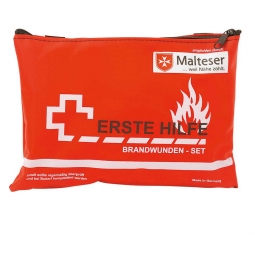 Brandwunden-Set, rot, BxTxH 185 x 40 x 130 mm, 2-farbiger Druck