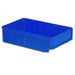 Regalkasten, blau, LxBxH 300x186x83 mm, Polystyrol-Kunststoff (PS), Gewicht 260 g