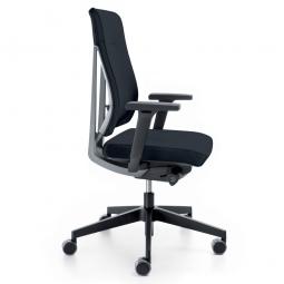 """Bürodrehsessel """"XENON"""", Farbe schwarz/grau, Synchronmechanik, Sitztiefenverstellung"""