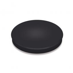 Haftmagnete, schwarz, Durchmesser 30 mm, Haftkraft 800 g, Paket=10 Magnete