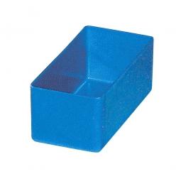 Einsatzkasten für Schubladen, blau, LxBxH 99x49x40 mm, Polystyrol-Kunststoff (PS)