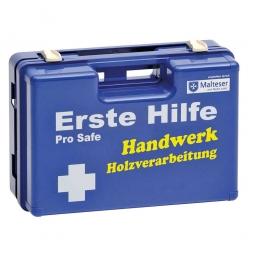 """Erste-Hilfe-Koffer """"Holzverarbeitung"""", Inhalt nach DIN 13157 mit spezifischer Zusatzausstattung"""