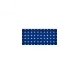 System-Lochplatte, BxH 1000x450 mm, Aus 1,25 mm Stahlblech, kunststoffbeschichtet in saphirblau