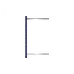 Kragarm-Anbauregal, leichte Ausführung, einseitige Nutzung, BxTxH 1060 x 500 x 1980 mm, Gesamttragkraft 700 kg