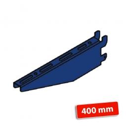 Kragarm, Nutztiefe 400 mm, schwere Ausführung, Tragkraft 550 kg