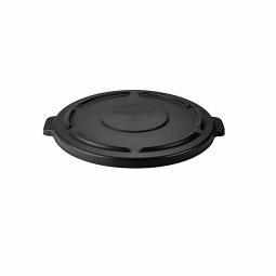 Deckel für Mehrzweckbehälter 76 Liter, schwarz, Ø 495 mm, Polyethylen-Kunststoff (PE)