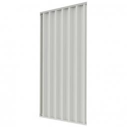 1x Trapezblech-Seitenwand, links und rechts verwendbar, für Überdachungssystem TxH 2200 x 2350 mm
