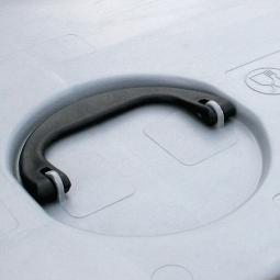 Deckelgriff, klappbar - für Stapeldeckel von Volumen- und Palettenboxen