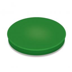 Haftmagnete, grün, Durchmesser 40 mm, Haftkraft 800 g, Paket=10 Magnete