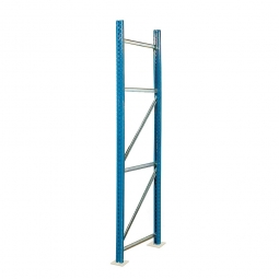Paletten-Steckregal-Rahmen, zerlegt, HxT 3500 x 800 mm, Profil PN85, Tragkraft 12000 kg