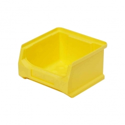 Sichtbox PROFI LB6, gelb, Inhalt 0,3 Liter, LxBxH 100x100x60 mm, innen 75x85x55 mm