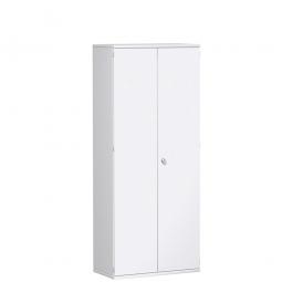 Garderobenschrank PRO, weiß, BxTxH 800x425x1920 mm, 1 Fachboden, 1 Kleiderstange