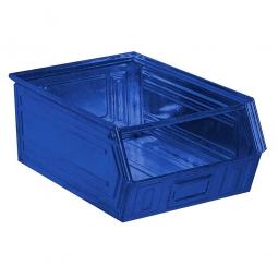 Sichtbox SB3 aus Stahlblech, 27 Liter, LxBxH 500/450 x 300 x 200 mm, blau