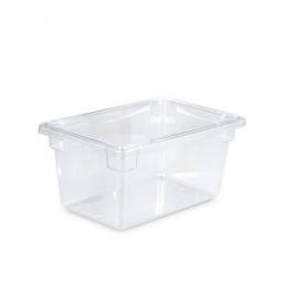 Rubbermaid Lebensmittelbehälter, LxBxH 457 x 305 x 229 mm, 19 Liter, glasklar