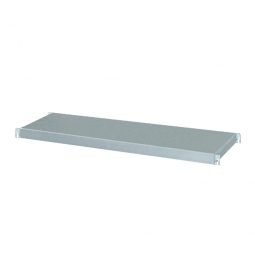 Regalboden aus Edelstahl, BxT 1150 x 450 mm, Tragkraft 150 kg