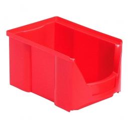 Sichtbox FUTURA FA 4, rot, Inhalt 3 Liter, LxBxH 230/196x140x122 mm, Gewicht 250 g